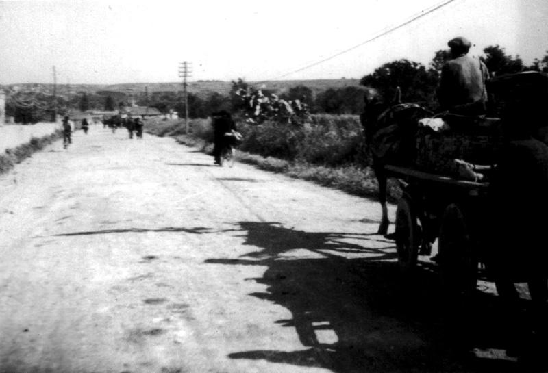 Augusta, Viale Italia anni '40 'Il Rientro in Città'