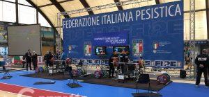 Augusta, pioggia di record e spettacolo ai campionati italiani di distensione su panca