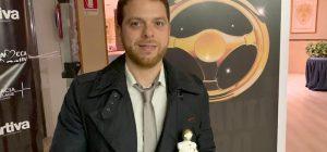 """Automobilismo, l'augustano Centamore premiato ai """"Volanti d'oro"""", festival dei piloti siciliani"""