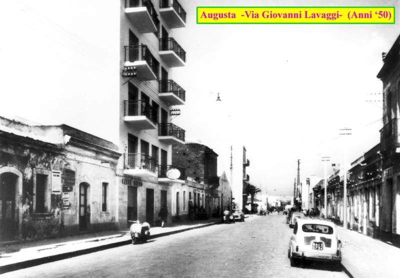 CaffèGreco, Augusta (Borgata) via Giovanni Lavaggi, anni cinquanta-