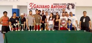 "Bench press, 3° Memorial ""Antonio Galvano"", primeggiano gli atleti dell'Asd Free Time di Augusta"