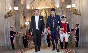 L'ambasciatore Dario Item incontra il Re di Spagna Felipe VI
