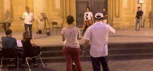 """Augusta, prove in piazza per la """"Tosca"""" firmata Giordani. Verso il tutto esaurito"""