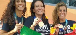 """Pallanuoto, l'augustana Capuano medaglia d'oro ai mondiali master. """"Sacrifici per essere in Corea"""""""
