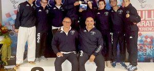Karate, ori internazionali per le augustane Cavallaro e Agus agli Open di Croazia