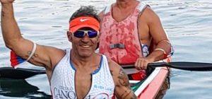 Paracanoa, l'augustano Ravalli torna e vince 4 titoli italiani all'Idroscalo di Milano
