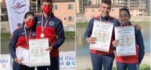 Canoa maratona, Polisportiva Rari 86 Augusta due volte tricolore a Firenze