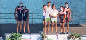 Canoa velocità, argento e bronzo augustani ai campionati italiani di Milano