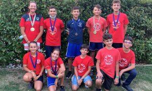 Canoa giovanile, cinque talenti augustani a medaglia sul lago di Caldonazzo